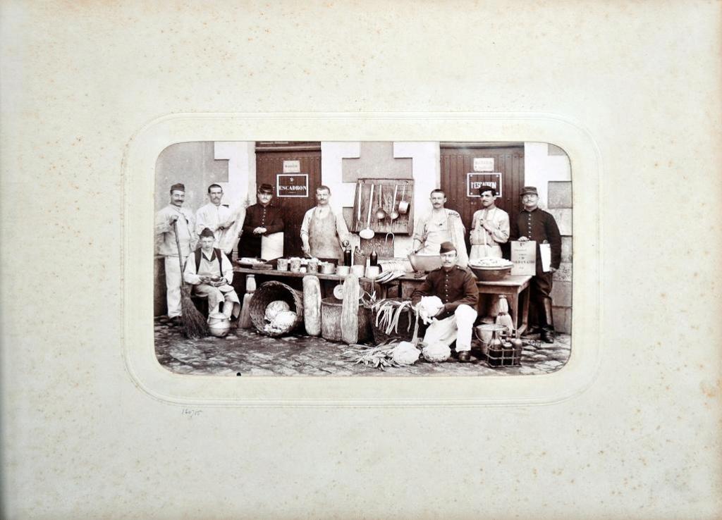 Album du 25e Dragon de 1897 en photo originale 1210