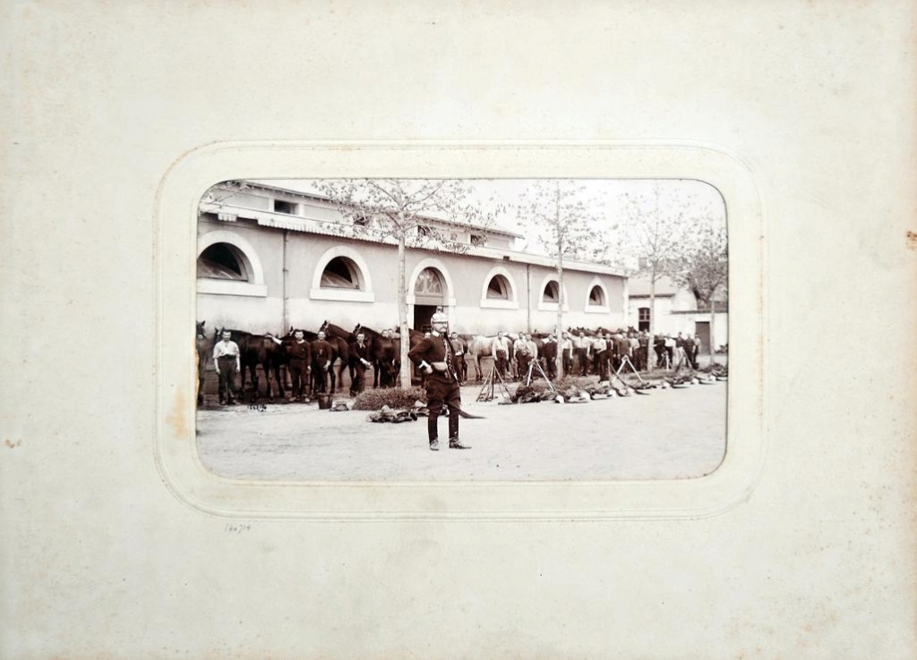 Album du 25e Dragon de 1897 en photo originale 1410