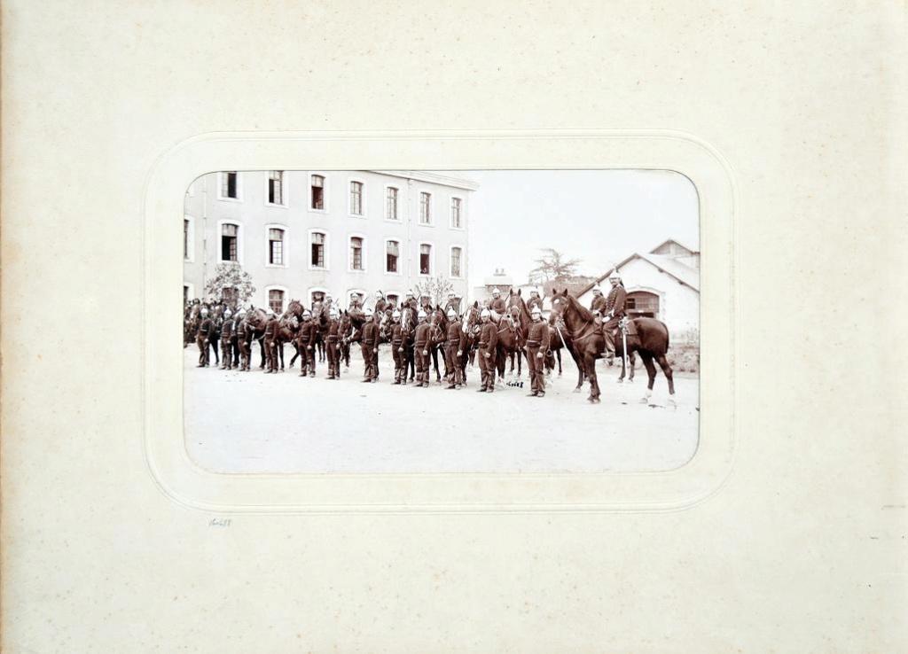Album du 25e Dragon de 1897 en photo originale 1510