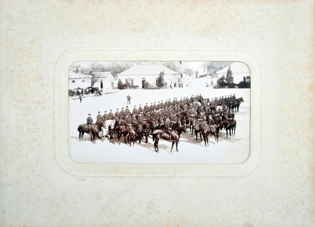 Album du 25e Dragon de 1897 en photo originale 1610