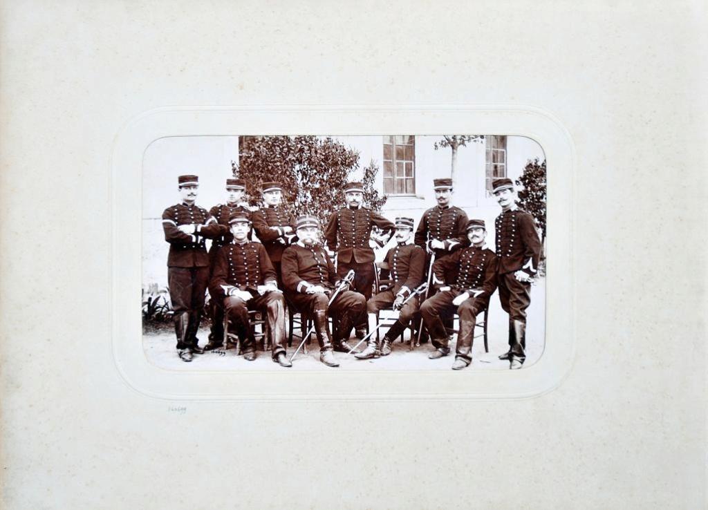 Album du 25e Dragon de 1897 en photo originale 1710