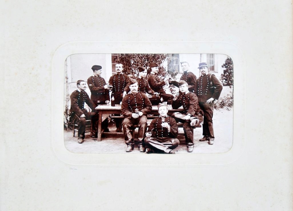 Album du 25e Dragon de 1897 en photo originale 1810