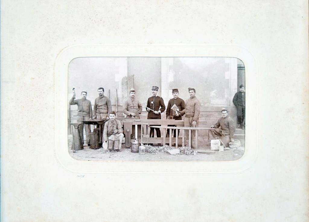 Album du 25e Dragon de 1897 en photo originale 2010