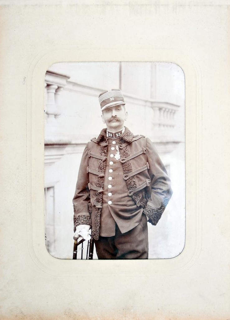 Album du 25e Dragon de 1897 en photo originale 210