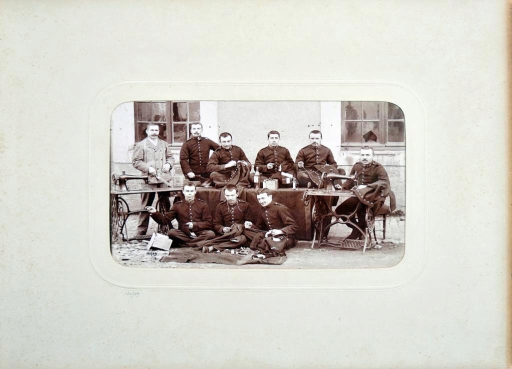Album du 25e Dragon de 1897 en photo originale 2410