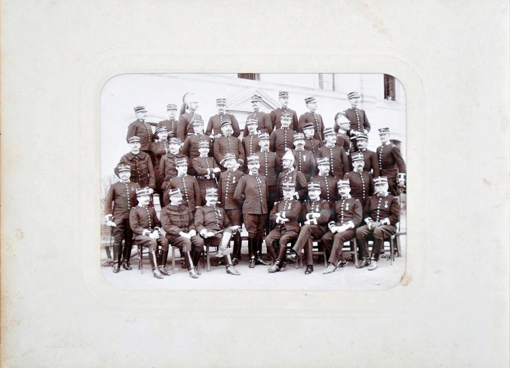 Album du 25e Dragon de 1897 en photo originale 310