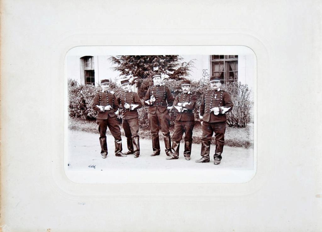 Album du 25e Dragon de 1897 en photo originale 510