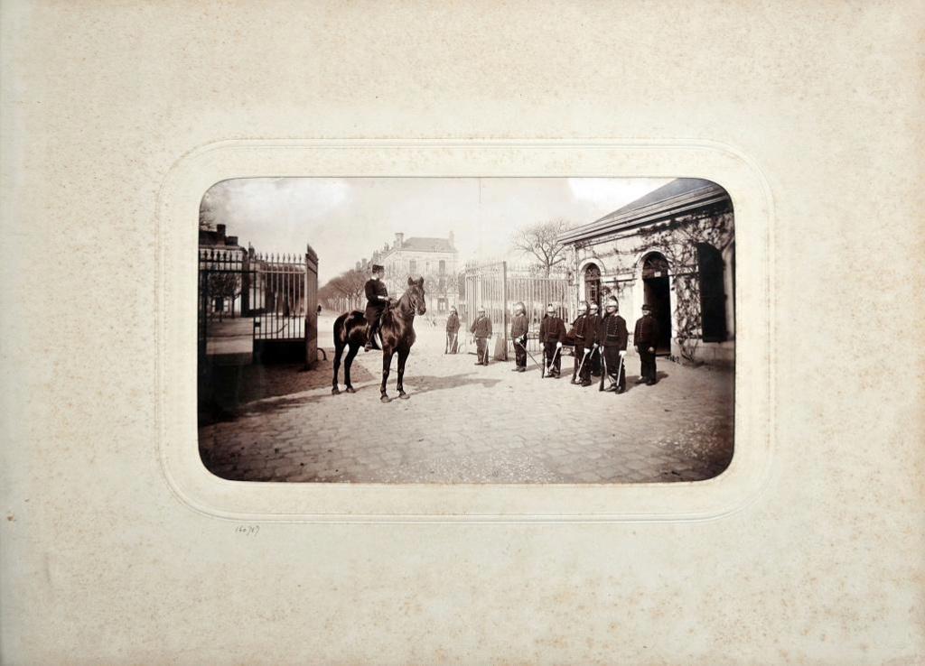 Album du 25e Dragon de 1897 en photo originale 810
