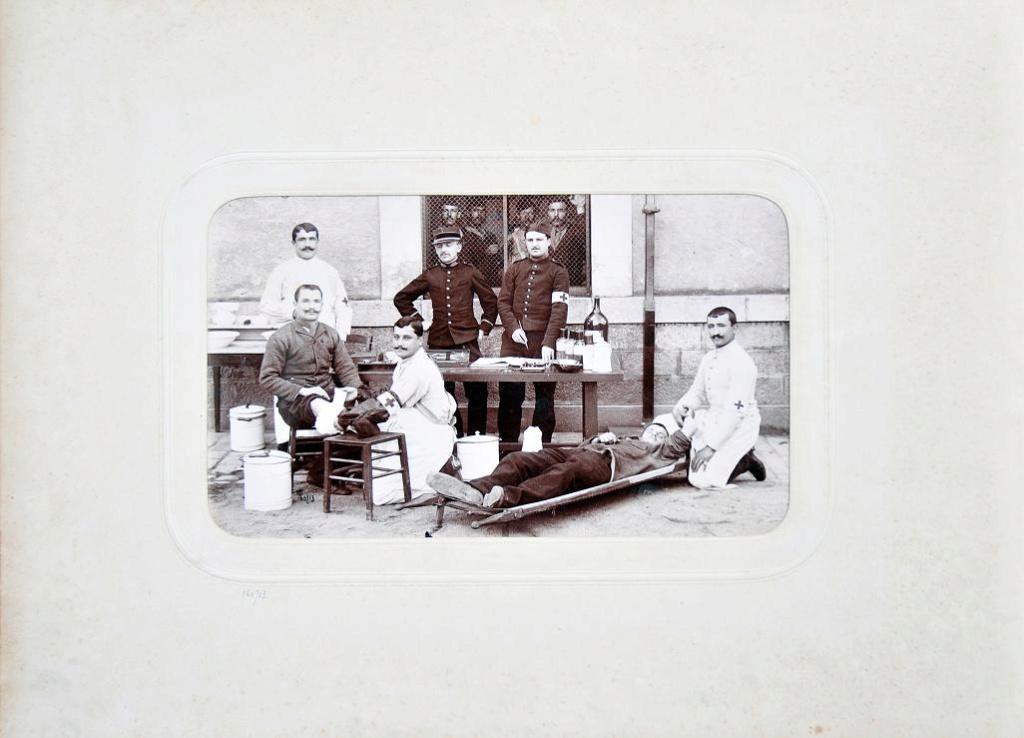 Album du 25e Dragon de 1897 en photo originale 910
