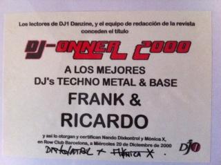 DJ´S ONNER 2000 Premio10