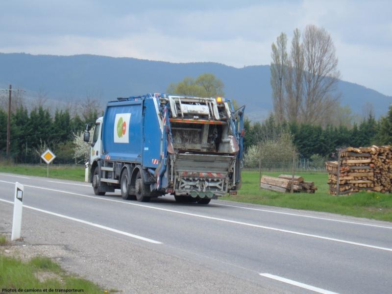 Les bennes a ordures ménagères. 01910
