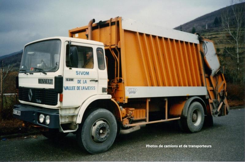 Les bennes a ordures ménagères. 16-04-17