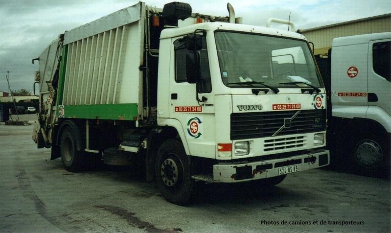 Les bennes a ordures ménagères. 16-04-20