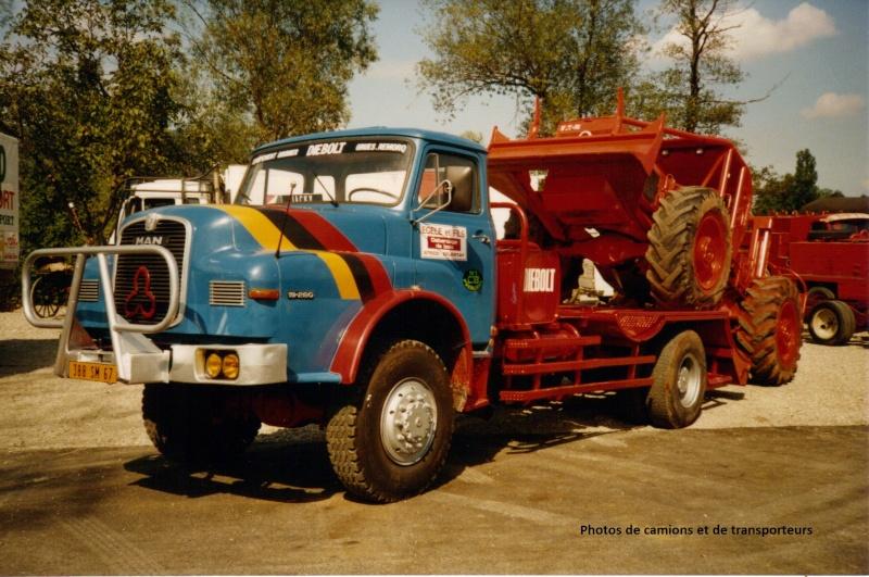 Transports de tracteurs forestier 16-04-24