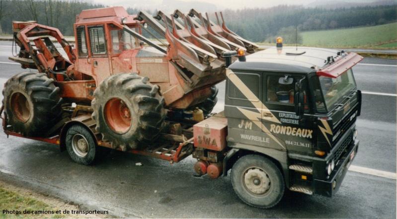 Transports de tracteurs forestier 17-04-28