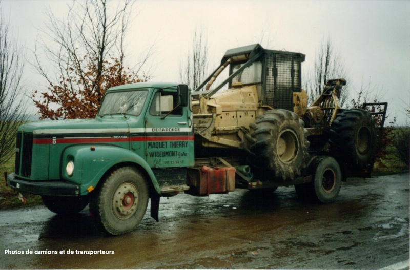 Transports de tracteurs forestier 17-04-29
