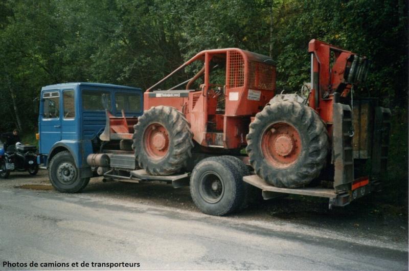 Transports de tracteurs forestier 20-04-11