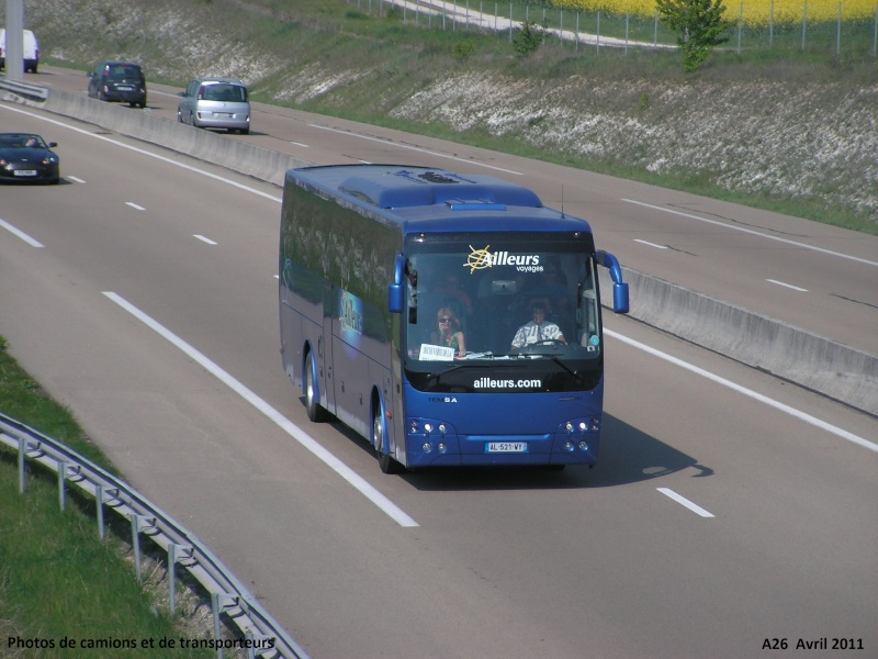 Cars et Bus de la région Rhone Alpes A26_l100