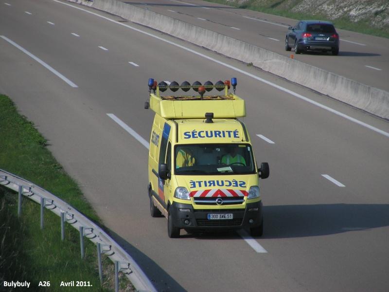 Les services des autoroutes. A26_l192