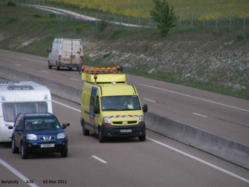 Les services des autoroutes. A26_l291