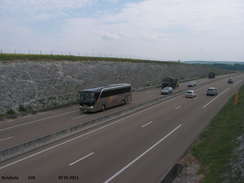 Kässbohrer Setra (Ulm) (Allemagne) (post uniquement pour les Setra sans inscriptions) A26_l370