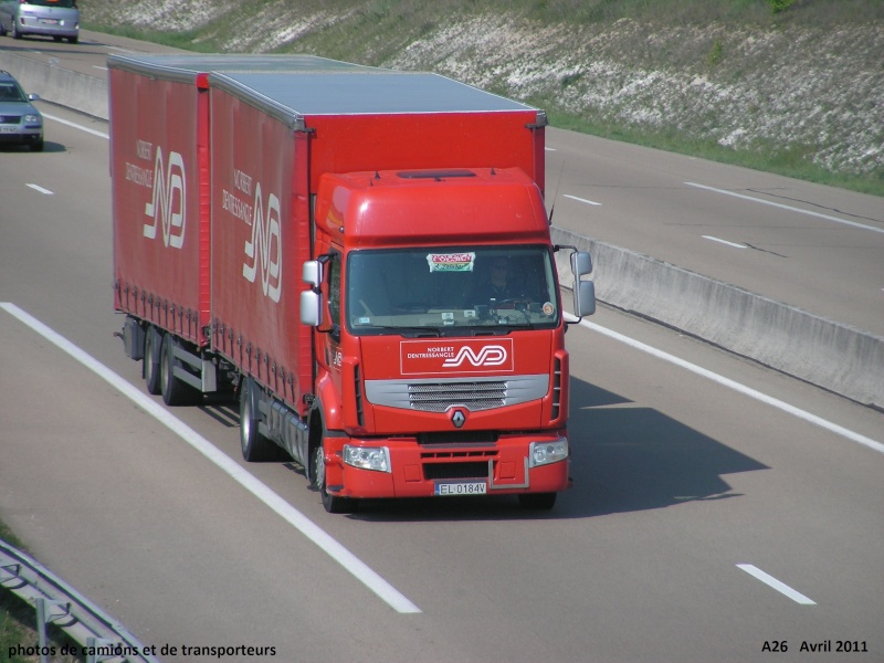 XPO Logistics (anc Dentressangle) (Saint Vallier, 26) A26_le90
