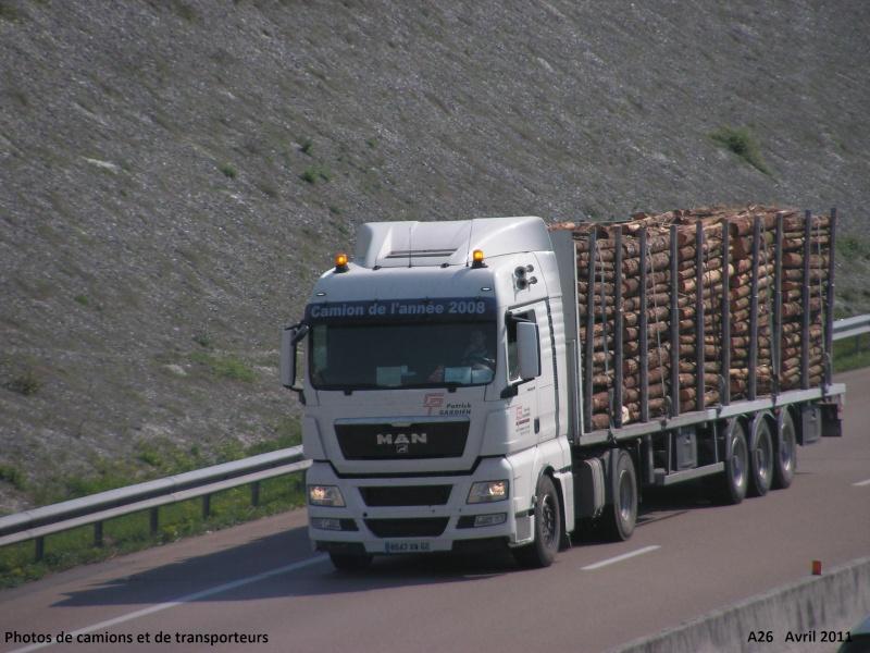 Photos de camions et de transporteurs - Portail A26_le92