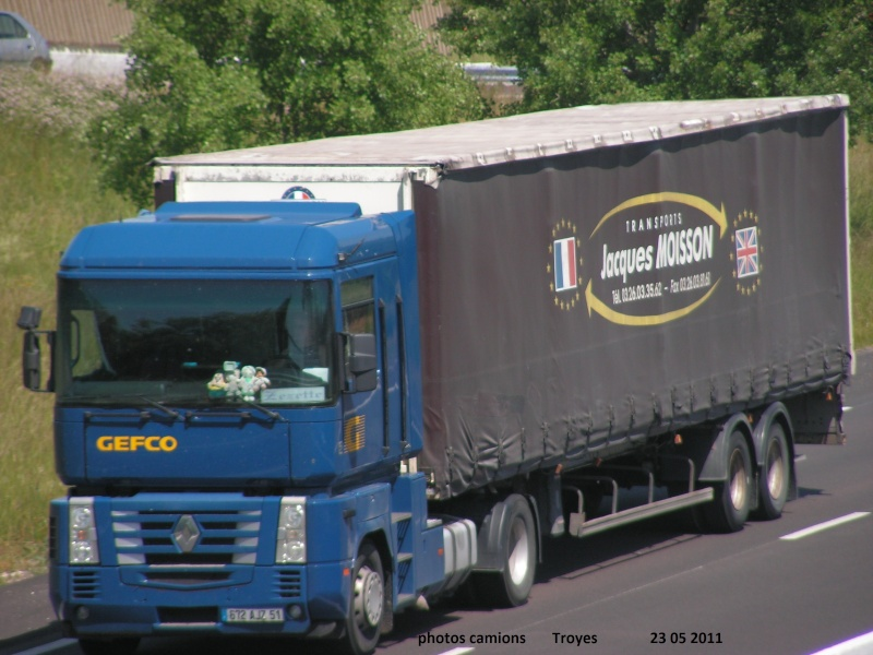 Transports Jacques Moisson.(Isles sur Suippe, 51) Rocad860