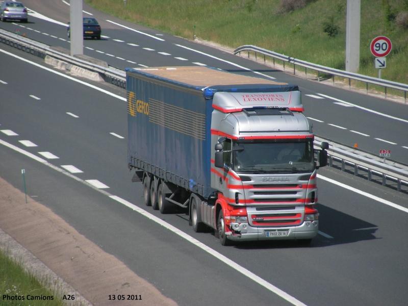 Lexoviens (Lisieux) (14) (transporteur disparus) Vendr169