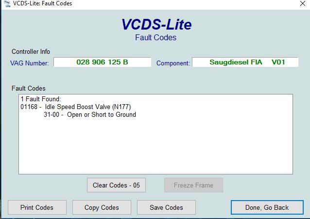 Ralenti élevé et code défaut P1168 Captur10