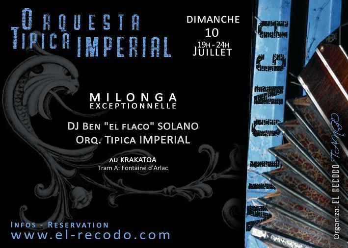 Milonga El Recodo - Orq. Tipica Imperial Milong10