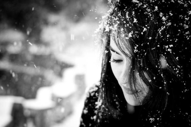 Crno-bela fotografija Snow_w10