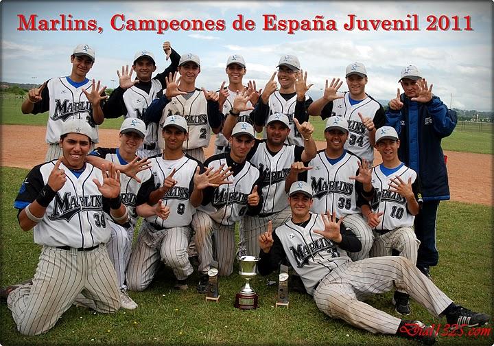 Campeonato de España de Béisbol Junior 2011  Marlin12