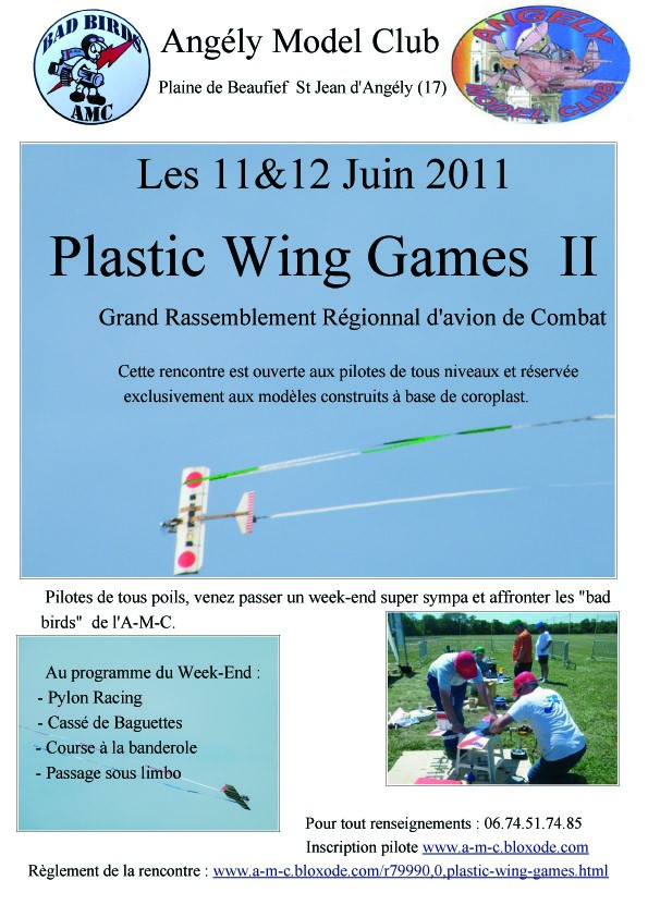 Plastic Wing Games 2011 Affich10