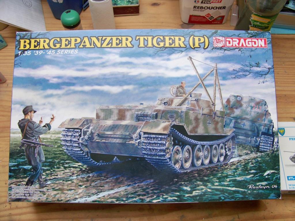 bergepanzer tiger (p) de dragon au 1/35 100_4634