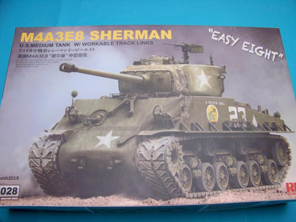 Sherman M4A3E8 easy eight de RFM AU 1/35 100_4727