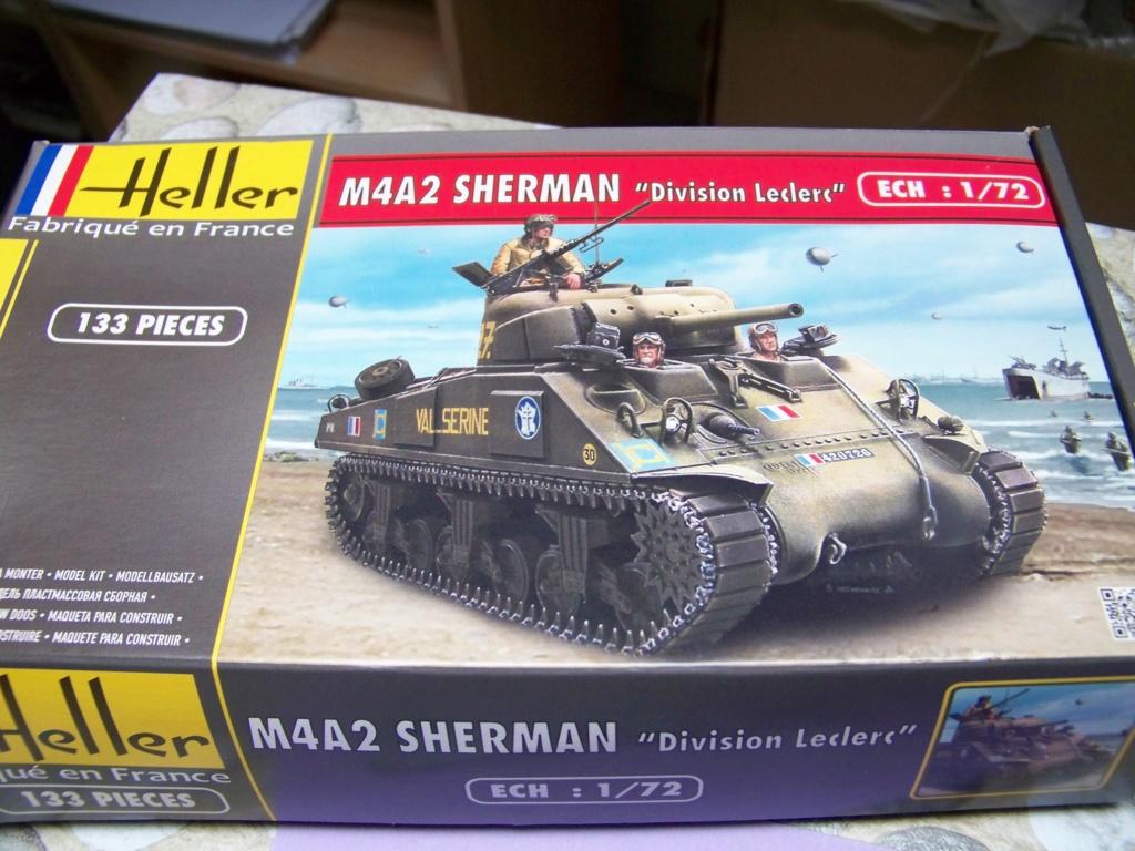 Sherman M4A2 au 1/72 de Heller  100_4838