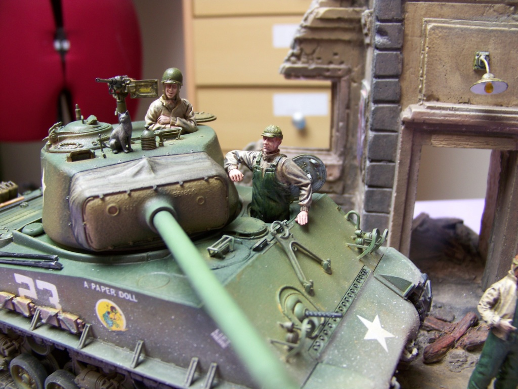 Sherman M4A3E8 easy eight de RFM AU 1/35 - Page 6 100_4941