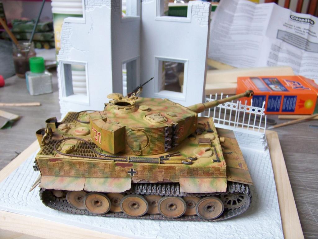 Tiger I milieu production au 1/35 de tamiya  - Page 5 100_5824
