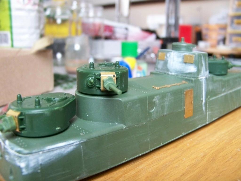 Motorized Armored Railcar MBV-2 au 1/72 de chez Military UM technics 100_5916