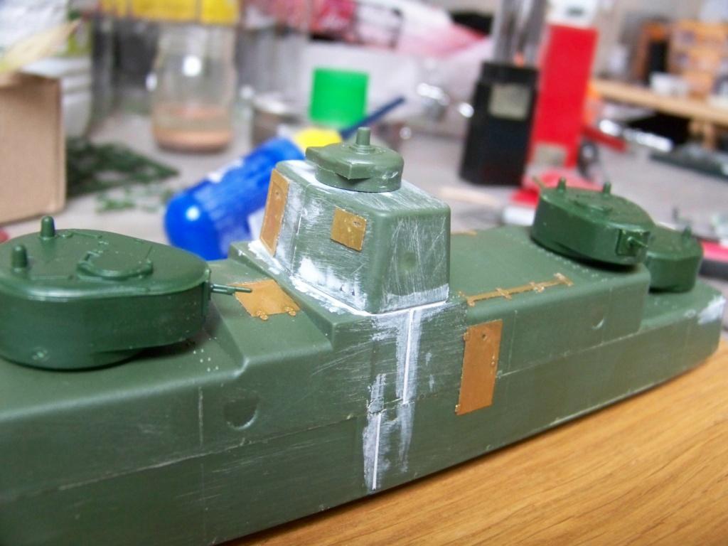 Motorized Armored Railcar MBV-2 au 1/72 de chez Military UM technics 100_5917