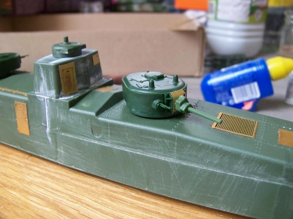 Motorized Armored Railcar MBV-2 au 1/72 de chez Military UM technics 100_5918