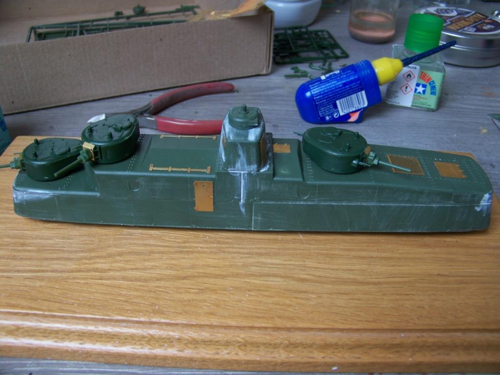 Motorized Armored Railcar MBV-2 au 1/72 de chez Military UM technics 100_5919