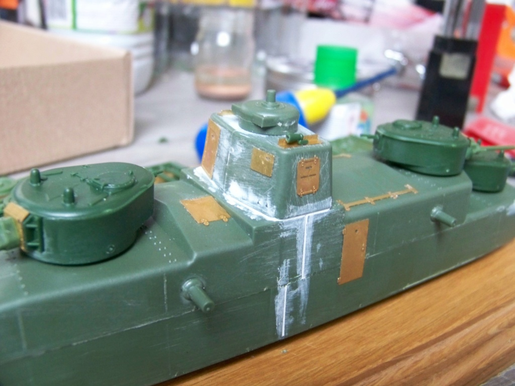 Motorized Armored Railcar MBV-2 au 1/72 de chez Military UM technics - Page 2 100_5922
