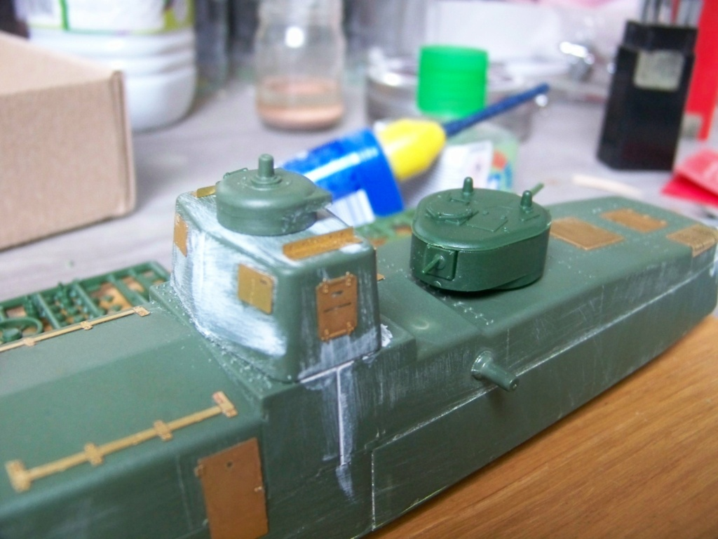Motorized Armored Railcar MBV-2 au 1/72 de chez Military UM technics - Page 2 100_5925