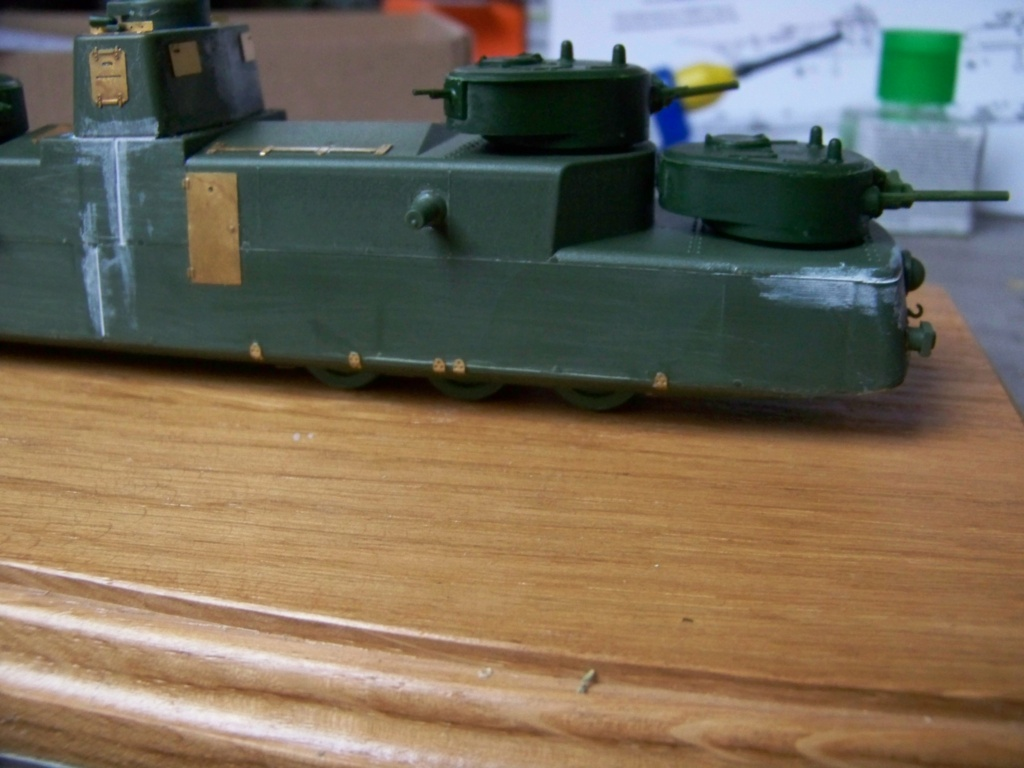 Motorized Armored Railcar MBV-2 au 1/72 de chez Military UM technics - Page 2 100_5927
