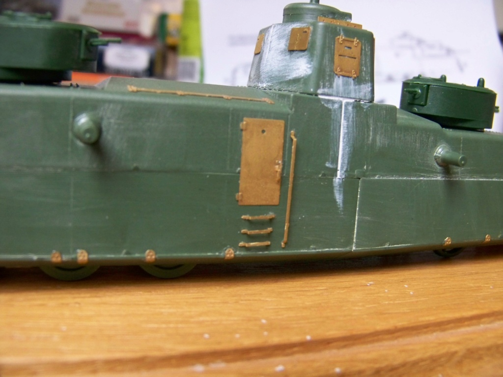 Motorized Armored Railcar MBV-2 au 1/72 de chez Military UM technics - Page 2 100_6013