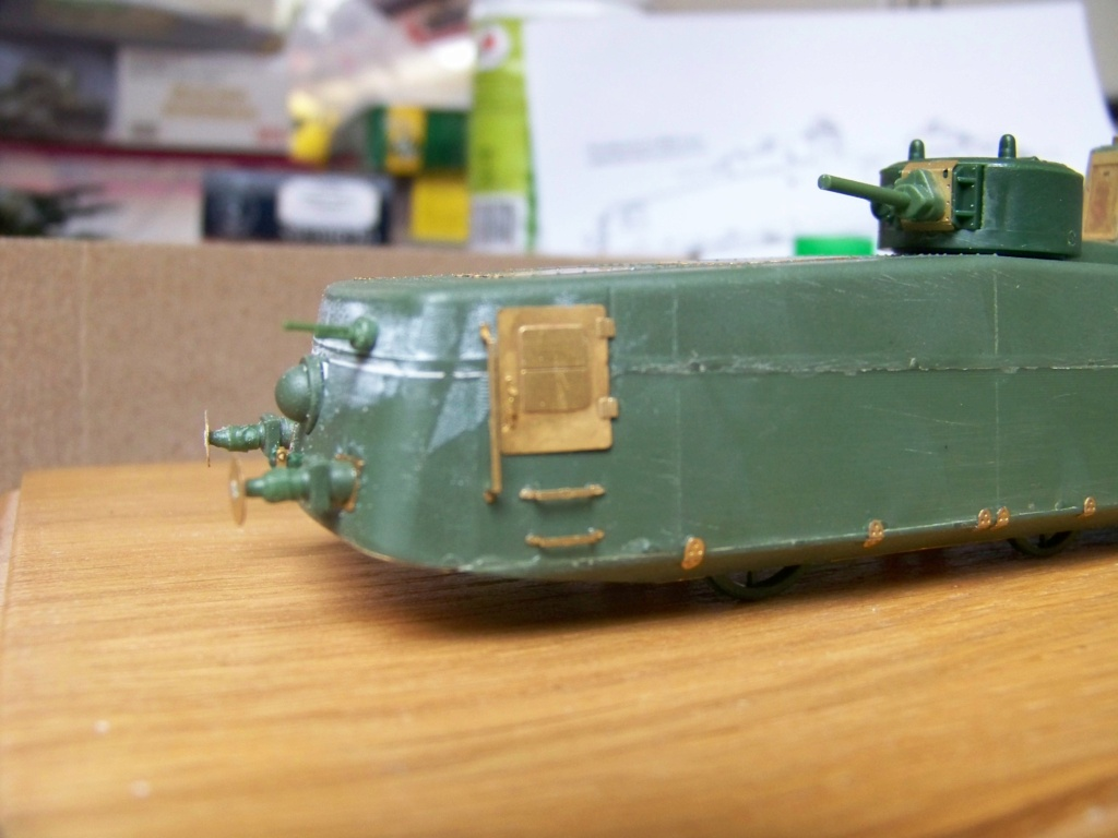 Motorized Armored Railcar MBV-2 au 1/72 de chez Military UM technics - Page 2 100_6014