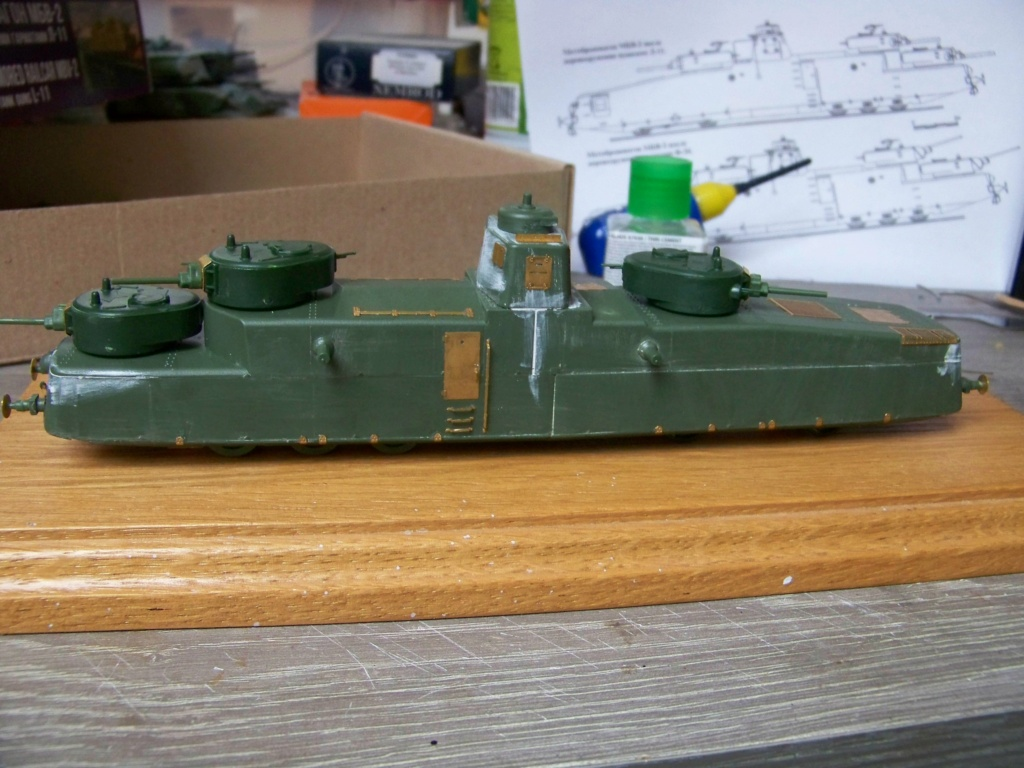 Motorized Armored Railcar MBV-2 au 1/72 de chez Military UM technics - Page 2 100_6015