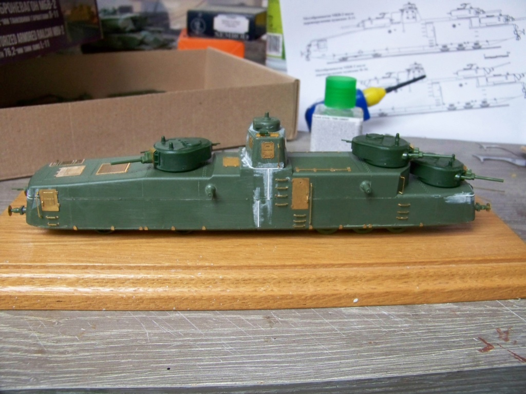 Motorized Armored Railcar MBV-2 au 1/72 de chez Military UM technics - Page 2 100_6016